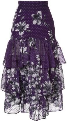 Bambah Bridget ruffle skirt