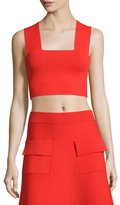 A.L.C. Ali Sleeveless Cropped Ponte Top