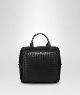 Bottega Veneta NERO TECHNICAL CANVAS BRIEFCASE