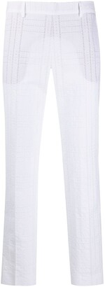 Alberto Biani Textured Tailored Trousers