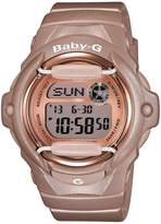 Baby-G Pink Champagne Series Bronze Ladies Watch