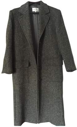 Ventilo Armand Khaki Wool Coat for Women