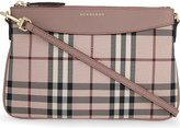 Burberry Peyton canvas clutch