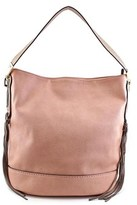 MG Collection Janna Tassel Slouchy Women Synthetic Nude Tote.