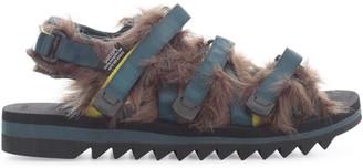 Suicoke Fur Sandals