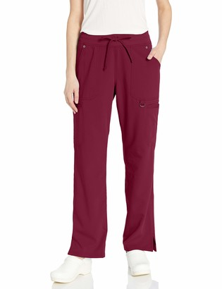Dickies Women's Mid Rise Rib Knit Waistband Pant Medical Scrubs