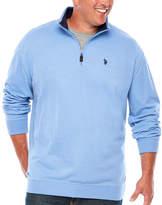 U.S. Polo Assn. Mock Neck Top Big and Tall