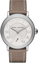 Marc Jacobs Women's Riley Cement Leather Strap Watch 36mm MJ1468
