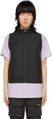 Stussy Black Multi Function Vest