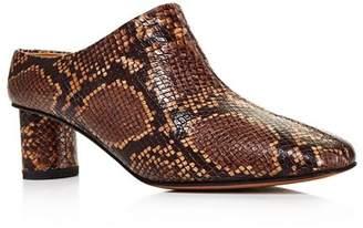 LOQ Women's Eva Block Heel Mules