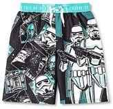 Star Wars Boys' Swim Trunk - Black