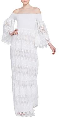 Alice + Olivia Roseline Lace Maxi Dress