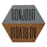 Dormify Bonjour Au Revoir Doormat