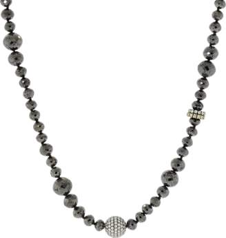Black Diamond Mariani 1878 White and Necklace