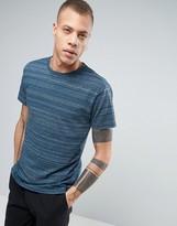 Cheap Monday Standard T-Shirt Stripe Spacedye Blue
