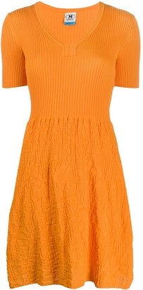 M Missoni Textured-Knit Dress