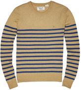 Original Penguin Stripe Crew Neck Sweater