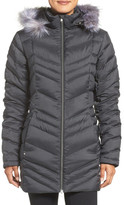 Spyder Faux Fur Trim Down Jacket