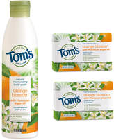 Tom's of Maine Orange Blossom Body Wash & Soap - Set of Three