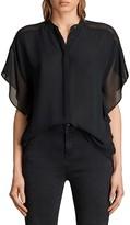 AllSaints Mila Flutter Sleeve Shirt