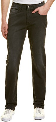 Seven For All Mankind 7 For All Mankind Slimmy Black Straight Leg Jean