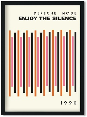 Fanclub Enjoy The Silence Depeche Mode Inspired Retro A3 Art Print