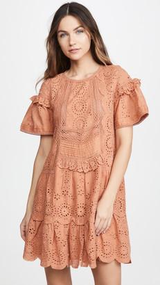 Sea Daisy Mini Dress