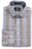Nordstrom Smartcare TM Classic Fit Graphic Check Dress Shirt