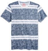American Rag Men's Leafy Stripe T-Shirt, Only at Macy's