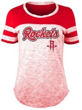 5th & Ocean Women's Houston Rockets Space Dye T-Shirt