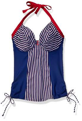 Curvy Kate Junior's Ahoy Halterneck Tankini