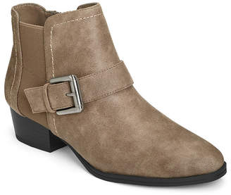 Aerosoles A2 BY A2 by Womens Cross Out Flat Heel Booties