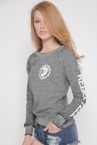 Rebel Yell RY Seal Lil Sis Lounger in Heather Gray