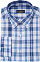 Club Room Men's Estate Classic Fit Plaid Dress Shirt, Created for Macy's