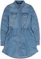 Levi's Denim Shirtdress, Toddler & Little Girls (2T-6X)