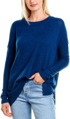 Forte Cashmere Easy Ballet Neck Cashmere Pullover