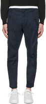 DSQUARED2 Navy Twill Cargo Trousers