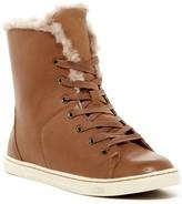 UGG Croft Luxe Genuine Shearling High Top Sneaker