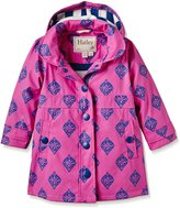 Hatley Little Girls' Splash Jacket Medallions