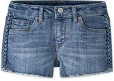 Levi's Novelty Eyelet Shorty Shorts, Big Girls (7-16)