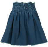 Miharayasuhiro elasticated waist denim skirt