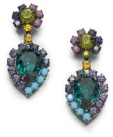 Dannijo Swarovski Crystal Drop Earrings