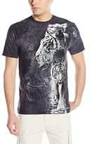 The Mountain White Tiger Stripe T-Shirt
