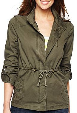 JCPenney a.n.a® Anorak Jacket