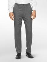 Calvin Klein X Fit Ultra Slim Fit Donegal Suit Pants