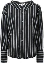 G.V.G.V. lace back collar shirt - women - Cotton - 36