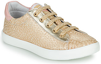 GBB ANASTA girls's Shoes (Trainers) in Beige