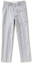 Class Club Big Boys 8-20 Pincord Striped Flat-Front Pants