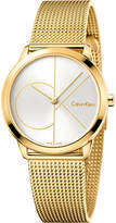 Calvin Klein K3M22526 gold-plated stainless steel watch