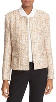 Helene Berman Women's Collarless Tweed Jacket
